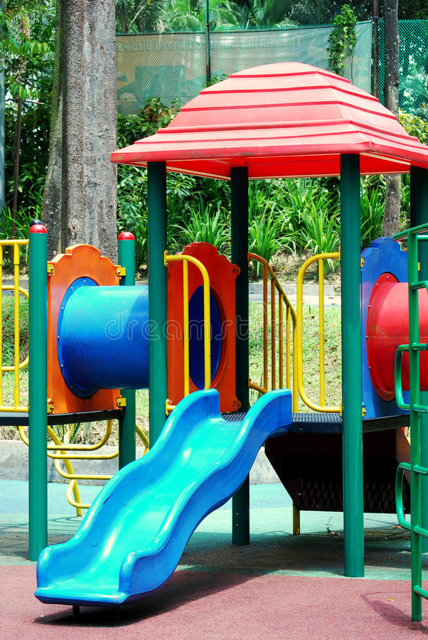 Children playground stock photo