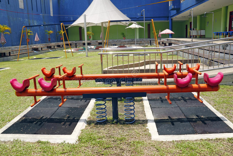 Download Children playground. stock image. Image of safe, children - 14861323