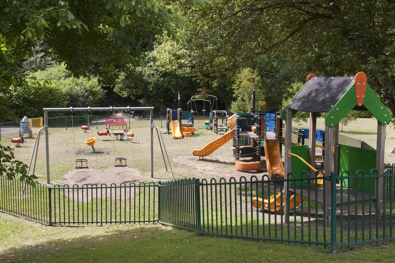 Download Children playground stock photo. Image of colorful, empty - 16254972