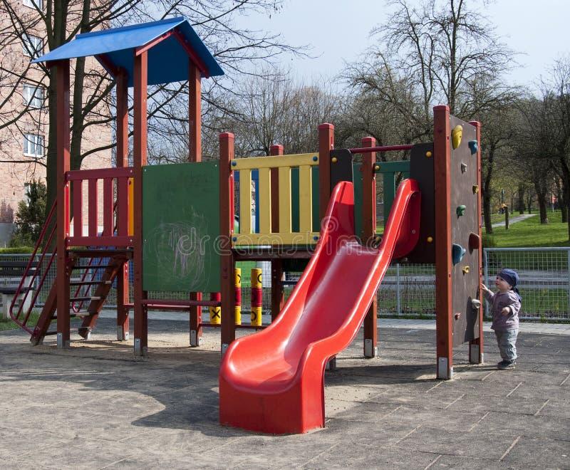 Download Children playground stock photo. Image of care, slides - 17743154