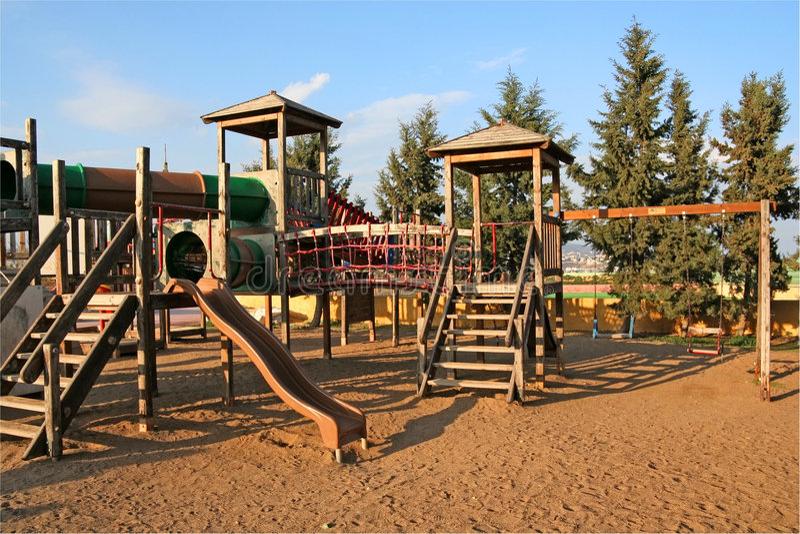 Download Children Playground stock photo. Image of ground, children - 4200018