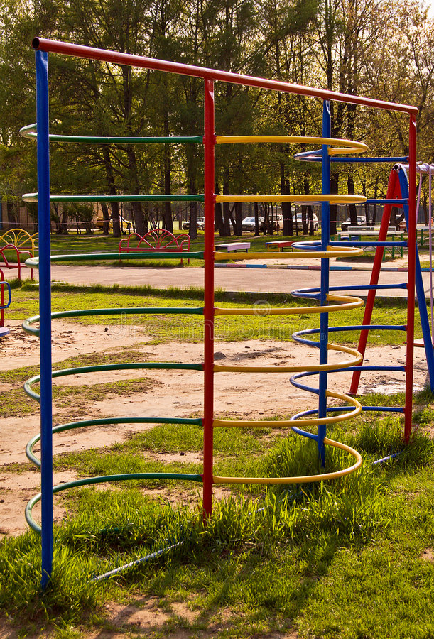 Download Children playground stock image. Image of staircase, playground - 5028663