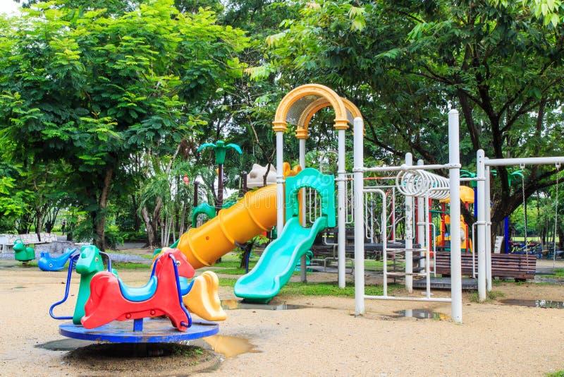 2 children playground стоковые фото