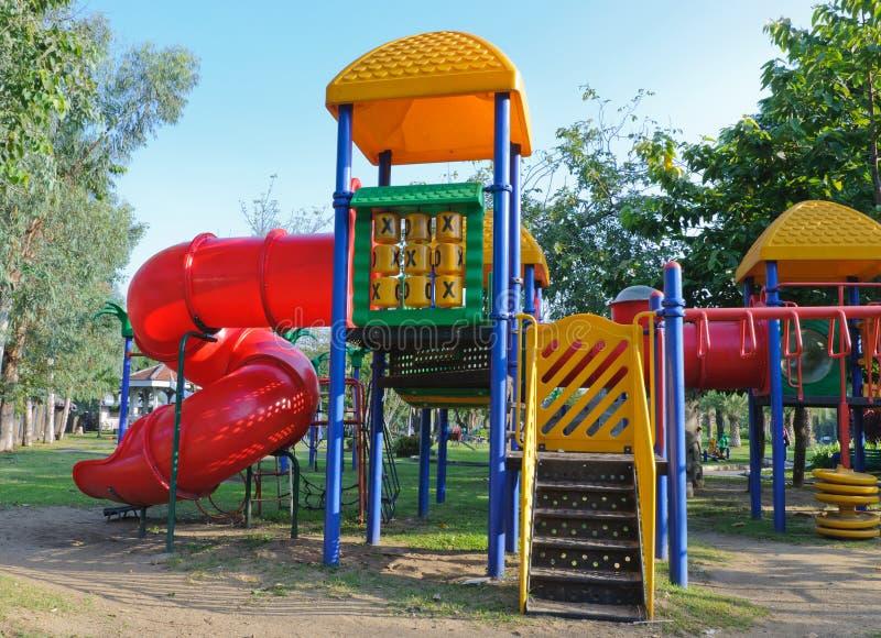 Download Children Playground In Park Stock Photos - Image: 27598673