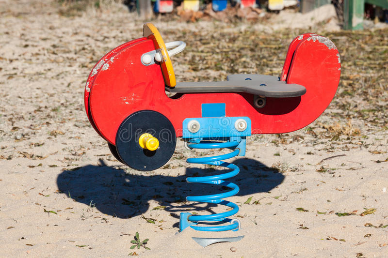 Download Children Playground In The Park. Stock Image - Image: 38961917