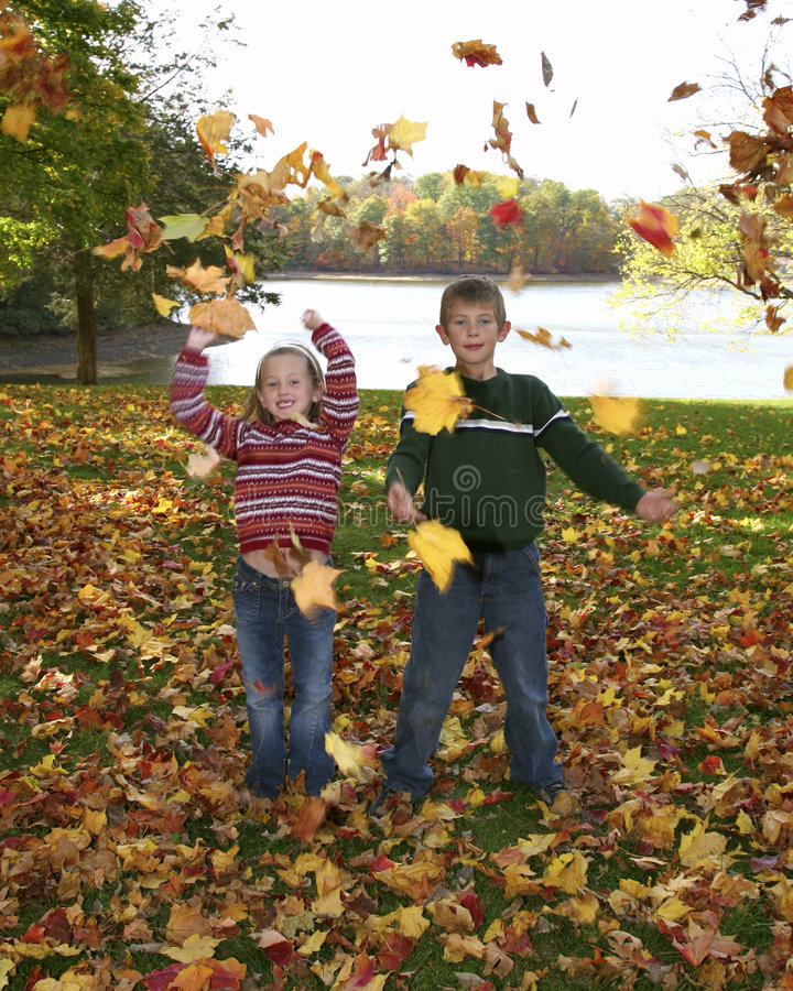 Children playing royalty free stock photography
