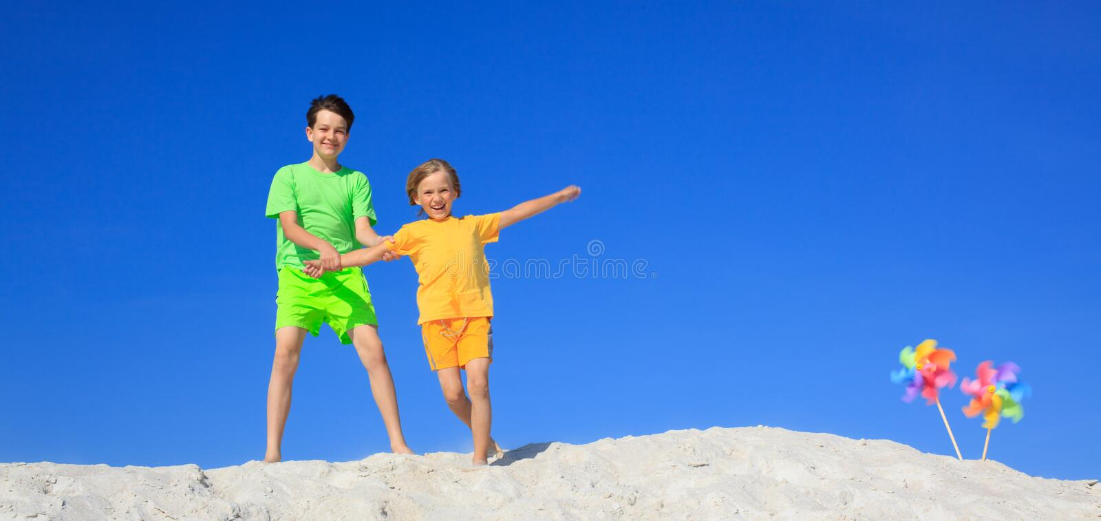 Download Children Playing On Beach Royalty Free Stock Photo - Image: 11538585