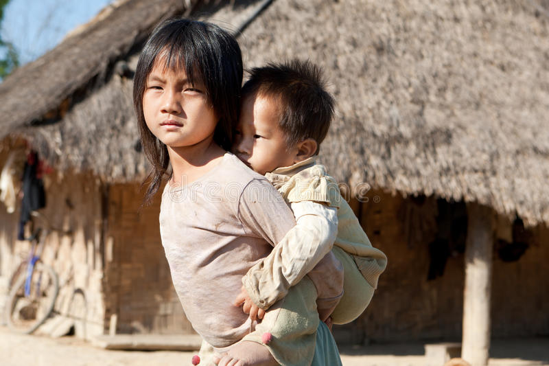 Download Children in poverty stock photo. Image of portrait, ethnic - 19125706