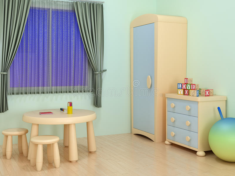 Children room royalty free stock image