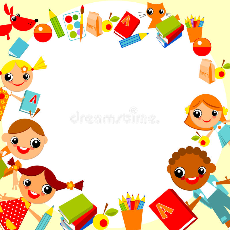 Free Children S Background Royalty Free Stock Image - 21844826