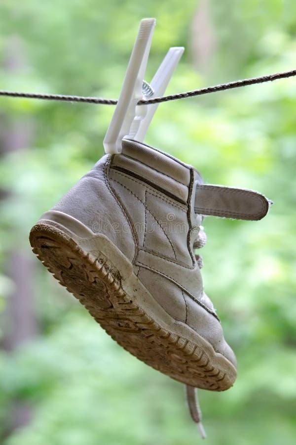 Children's boot stock image