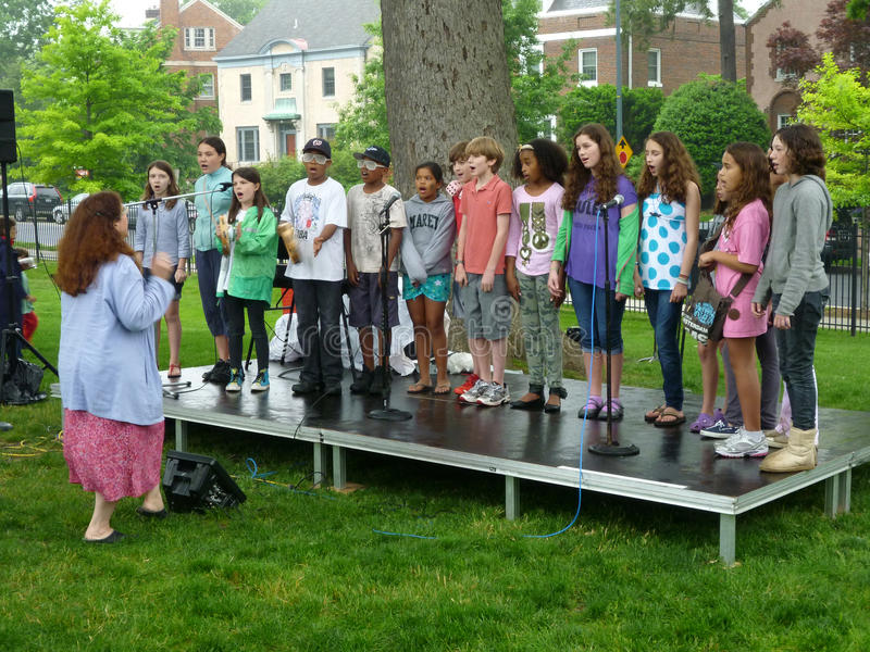 Children's Choir royalty free stock images
