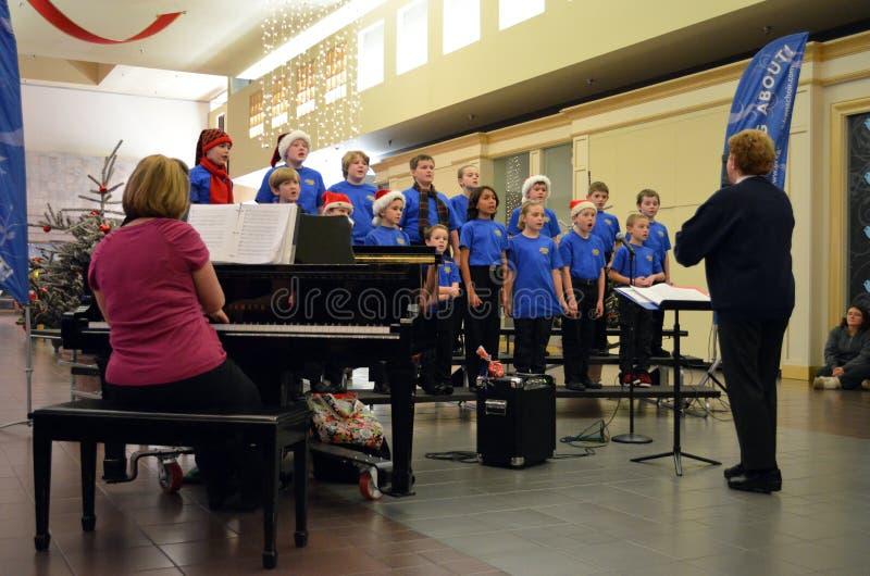 OR Children's Choir Boys Singers stock image