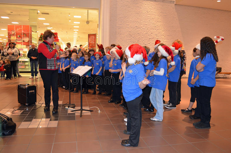 OR Children's Choir Junior Academy Singers royalty free stock photo