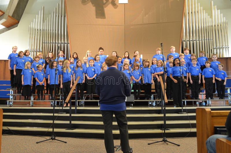 OR Children's Choir Singers stock photos