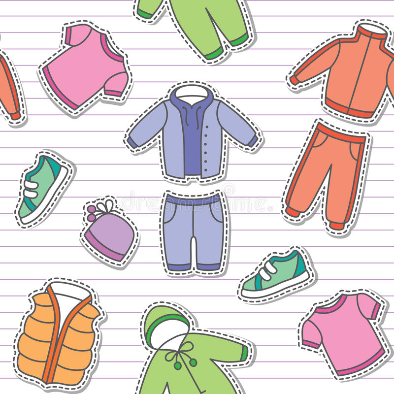 Download Children's Clothes Stock Photo - Image: 28272010