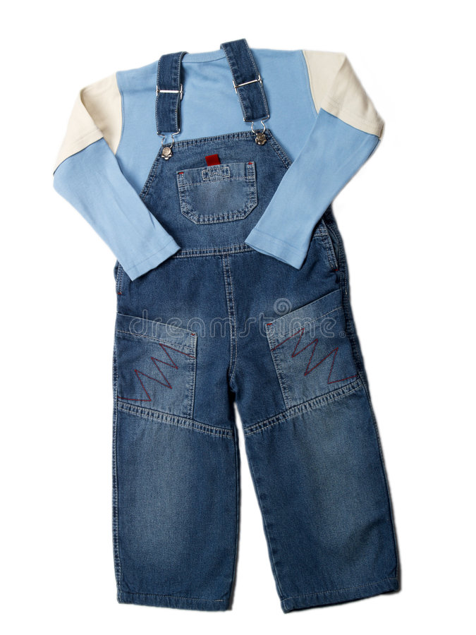 Children's clothes stock image
