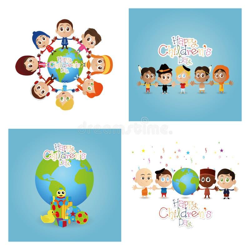 Children's day stock illustration