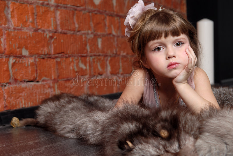 Download Children's dreams stock photo. Image of charm, style, hairdress - 8528548