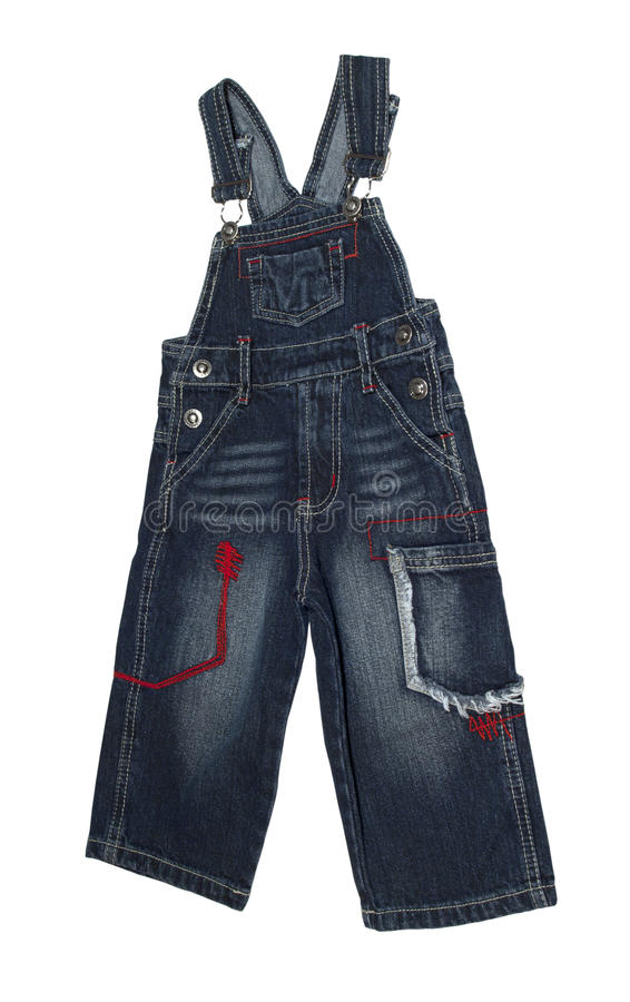 Free Children S Dungarees Royalty Free Stock Images - 21122789
