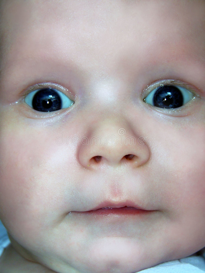 Children's face royalty free stock photography