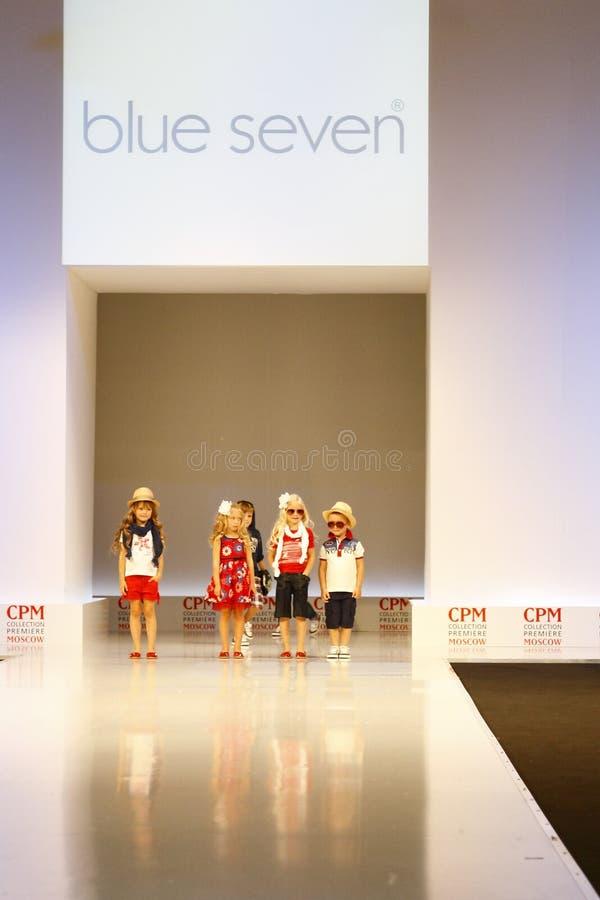 Children's Fashion Show royalty free stock photos