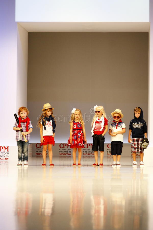 Children's Fashion Show royalty free stock images