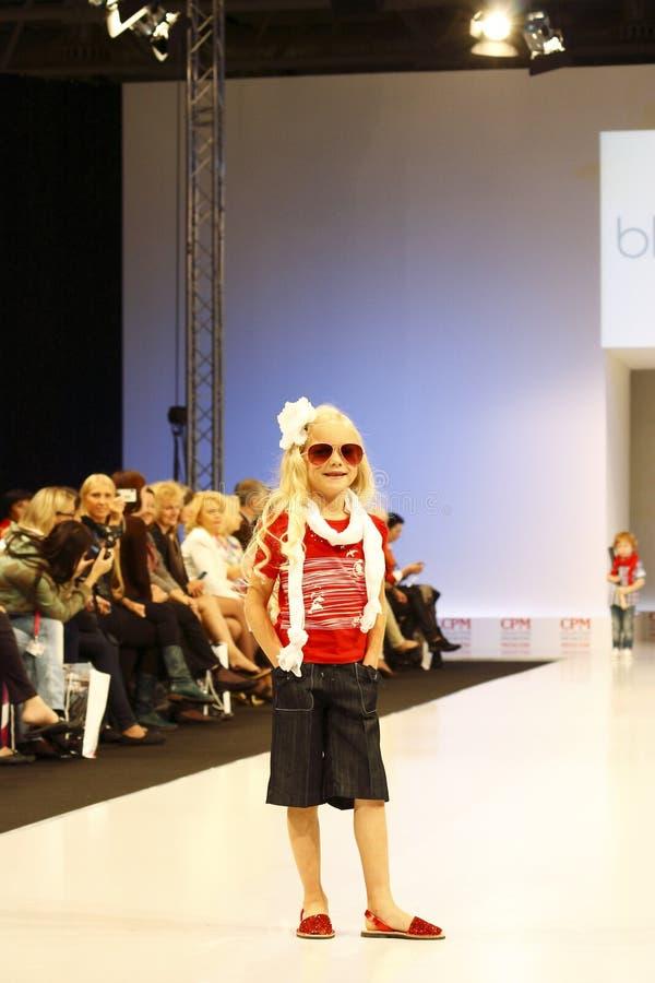 Children's Fashion Show stock photos