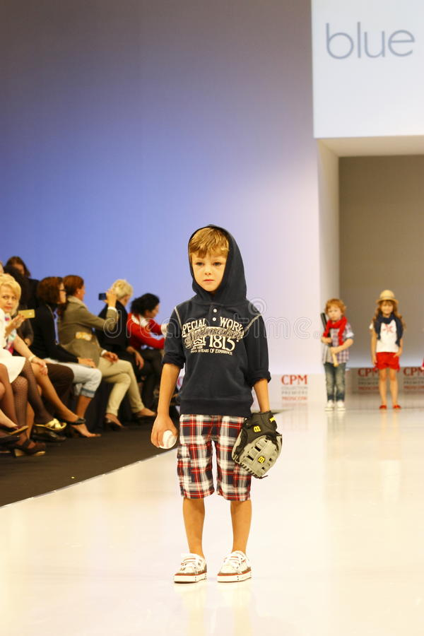 Children's Fashion Show royalty free stock photography