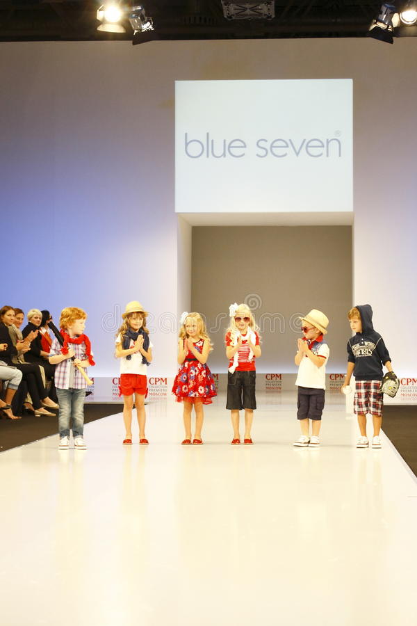 Children's Fashion Show stock images