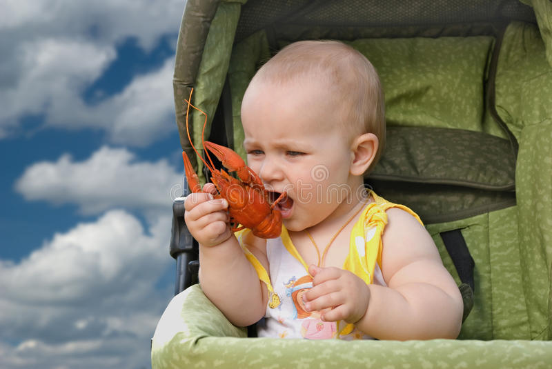 A children's food. stock image