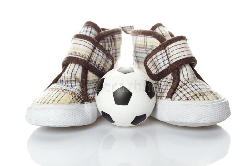 Children's Football royalty free stock images