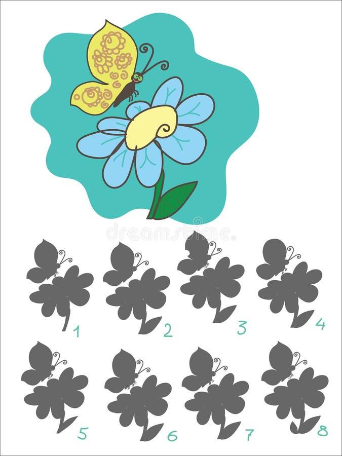 Children`s game of royalty free illustration
