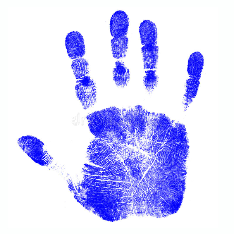 Free Children S Hand Prints Stock Images - 4231154