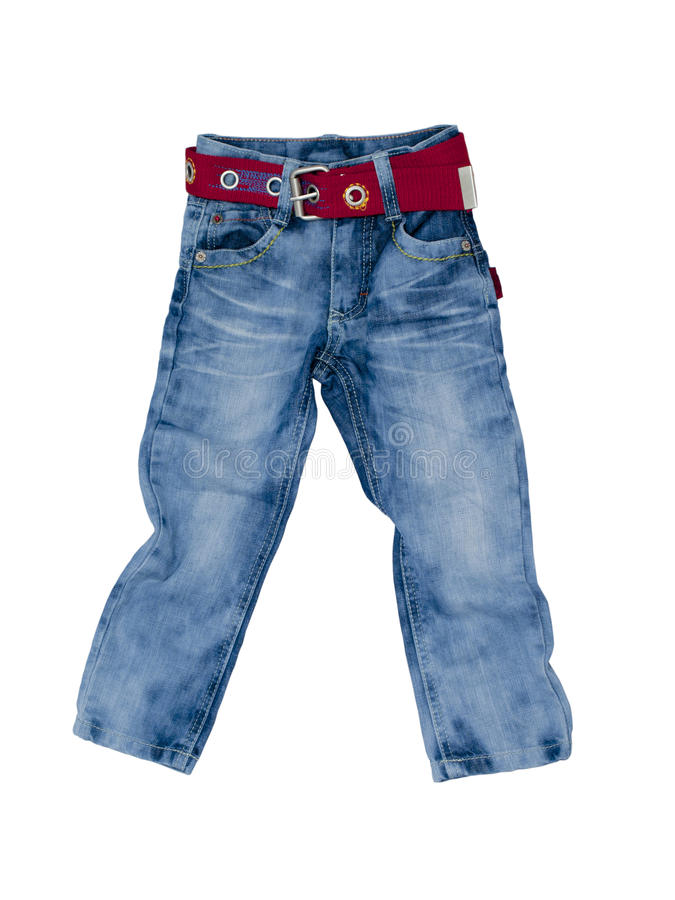 Free Children S Jeans Royalty Free Stock Image - 23553506