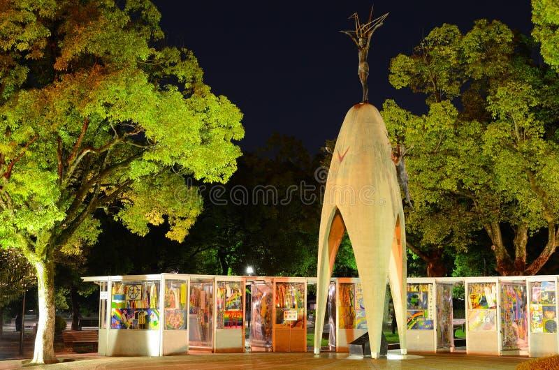 Children's Memorial of Hiroshima, Japan royalty free stock image