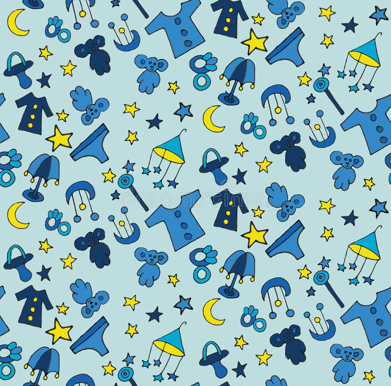 Children's pattern royalty free stock photography