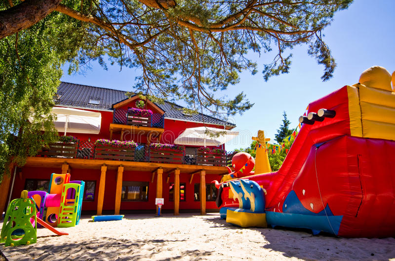 Children's play area royalty free stock images