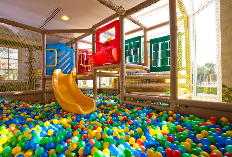 Children's Play Ground. Colorful Children's Play Ground royalty free stock photography