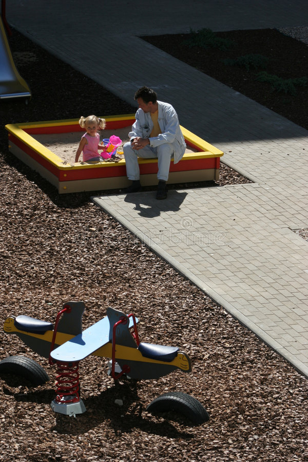 Download At The Children's Playground Stock Image - Image: 1010543
