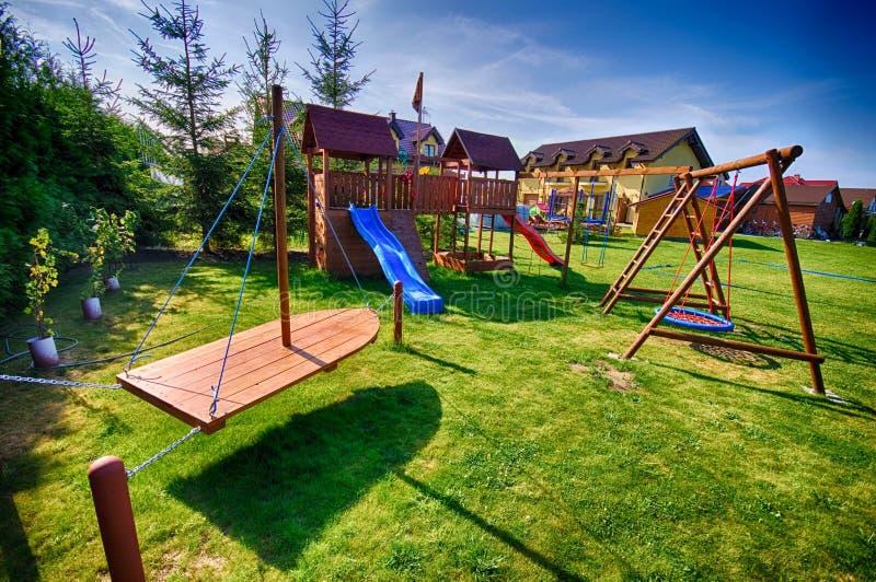 Children's playground royalty free stock photo