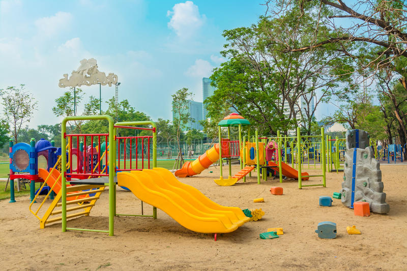 Download Children's Playground Leftover Stock Image - Image: 29962739