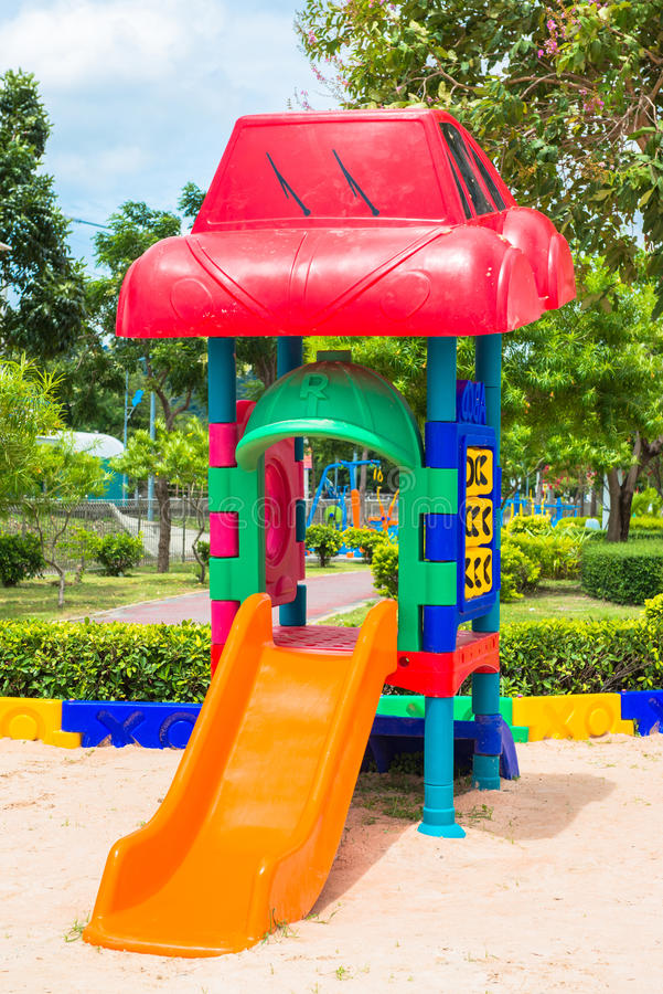 Download Children' S Playground At Public Park Stock Photo - Image: 33385938