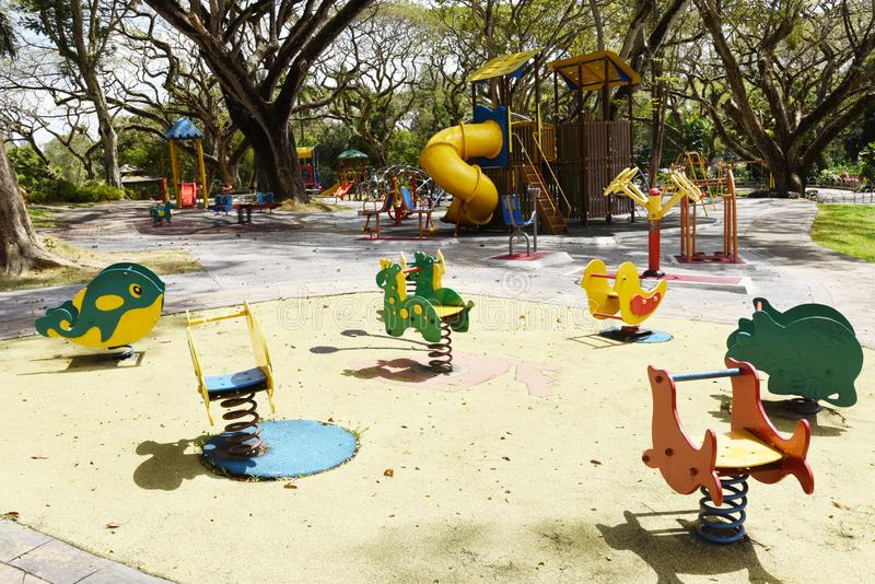 Children s Playground Structure stock images