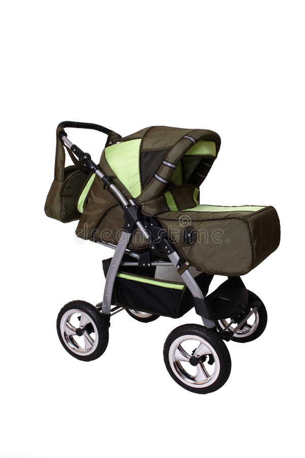 Children's pushchair royalty free stock images