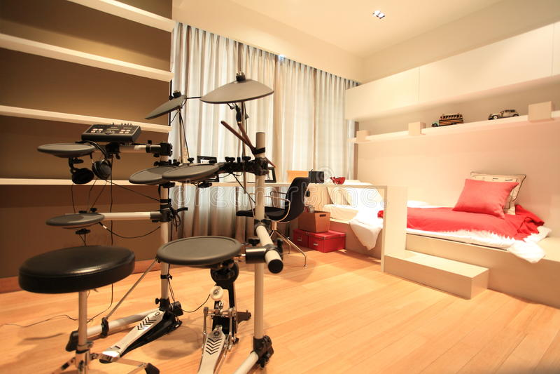 Children's room in Luxury Condo in Kuala Lumpur stock photography