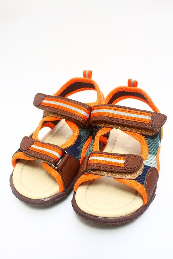 Children's sandals stock photos
