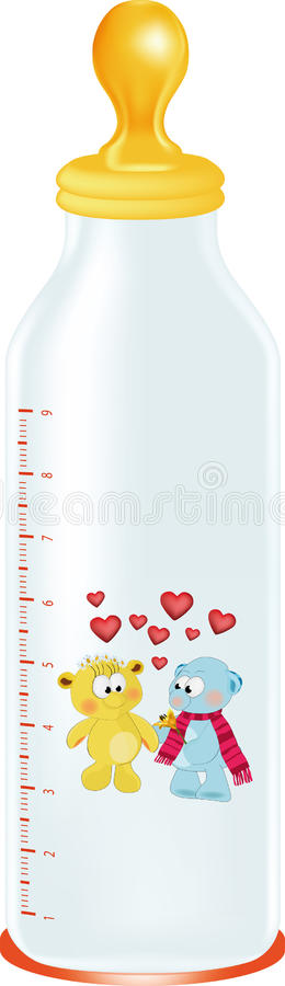 Download Children's Small Bottle Royalty Free Stock Images - Image: 13490049
