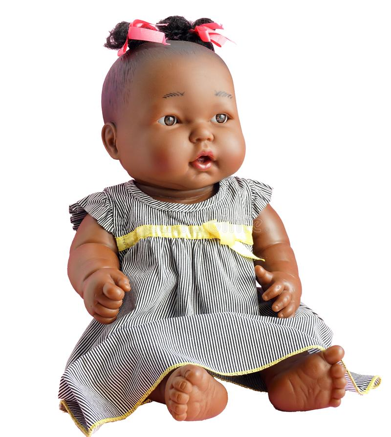 Free Children`s Toy - A Doll. Stock Photography - 128846442