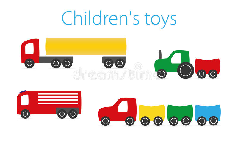 Children's toy. On a white background royalty free illustration